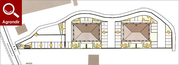 Plan du programme immobilier r sidence senigallia sens 89 for Plan de sens dans l yonne