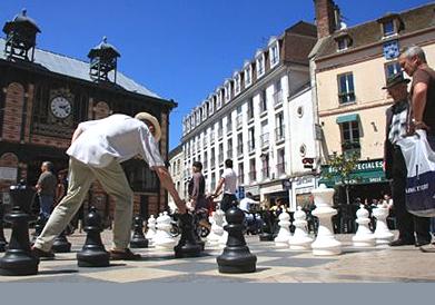 Centre ville de Sens