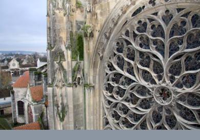 Rosace cathédrale de Sens