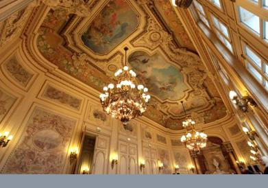 Salon hôtel de ville de Sens Yonne